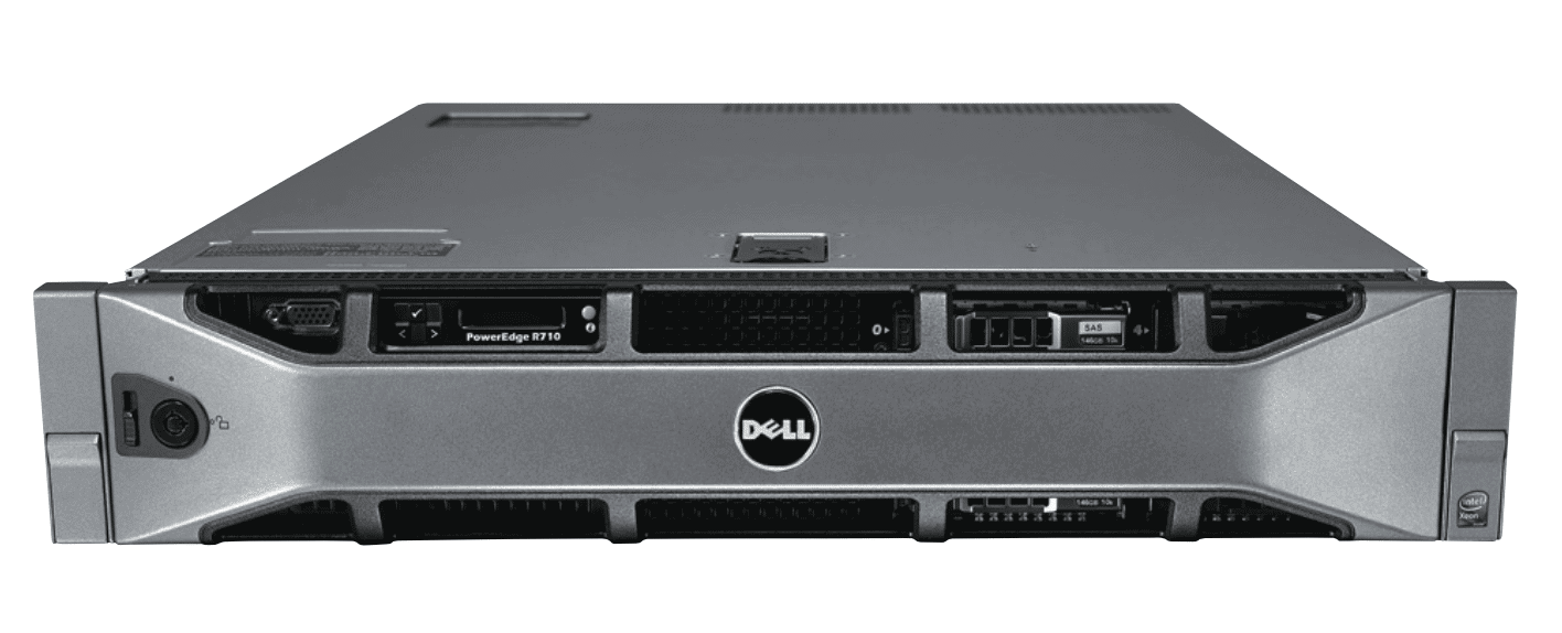 Dell PowerEdge R710 Server, SFF 8 Bay Server, E5645 6C 2 4Ghz, 16GB, 2 x  146GB