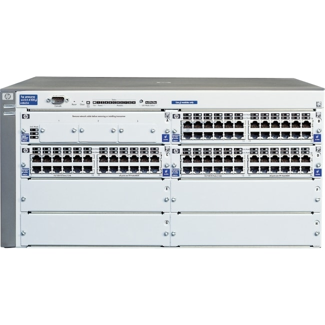 HP ProCurve Switch 4108GL Switch Chassis