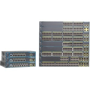 Cisco Catalyst WS-C2960-24LC-S Ethernet Switch