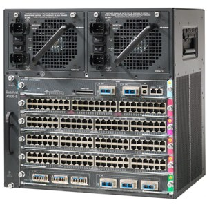 Cisco Catalyst 4506-E Switch Chassis