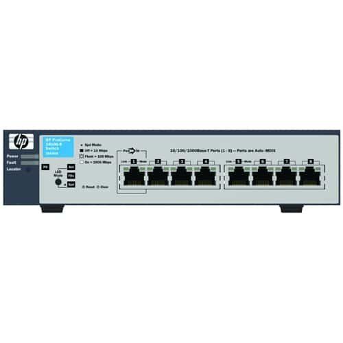 HP ProCurve 1810G-8 Ethernet Switch