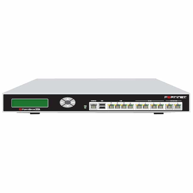Fortinet Fortigate 500a Multi Layer Security Appliance