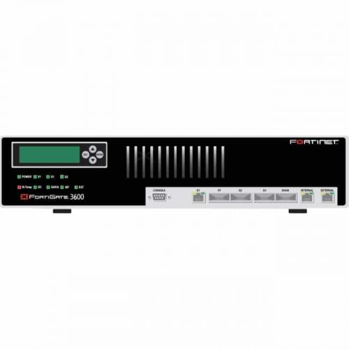 Fortinet FortiGate 3600 Unified Threat Management Appliance