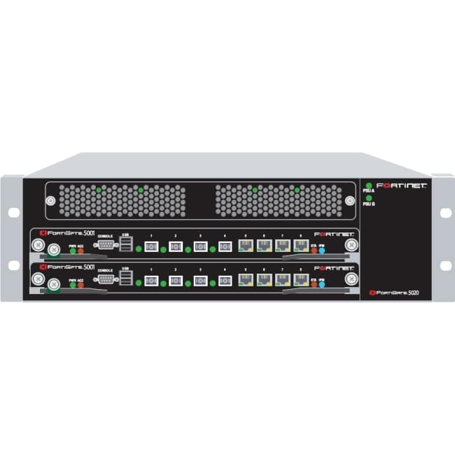 Fortinet FortiGate 5020 Chassis Security Systems