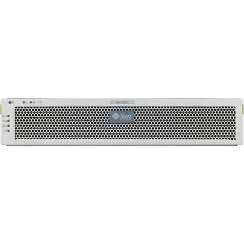 Sun Netra T5220 NT52-108B-32GD4-DC 2U Rack Server - 1 x Sun UltraSPARC T2 1.20 GHz - 32 GB Installed - 584 GB HDD - Solaris 10 - Serial Attached SCSI (SAS) Controller - 0, 1 RAID Levels - 2 x 1.30 kW
