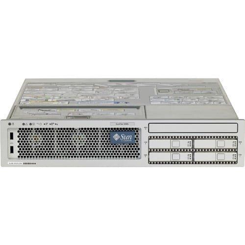 Sun Fire V245 R245-ELZ2-8GC2 2U Rack Server - 2 UltraSPARC IIIi 1.50 GHz - 8 GB Installed DDR SDRAM - 146 GB HDD - Solaris 10 - Serial Attached SCSI (SAS) Controller - 1 x 400 W