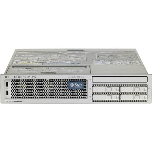 Sun Fire V245 R245-ELZ2-8GC2 2U Rack Server - 2 UltraSPARC IIIi 1.50 GHz - 8 GB Installed DDR SDRAM - 146 GB HDD - Solaris 10 - Serial Attached SCSI (SAS) Controller - 1 x 400 W