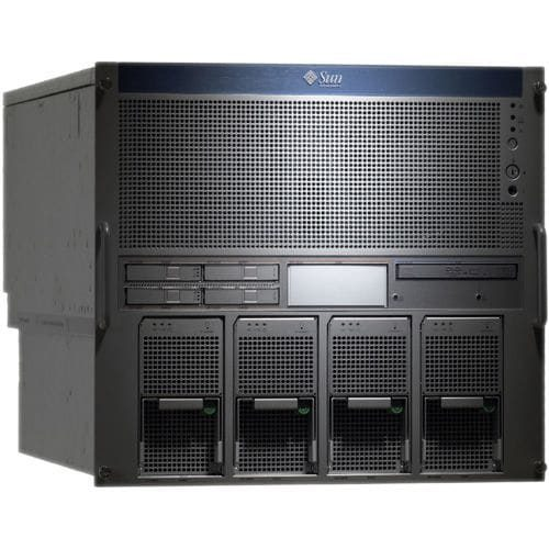 Sun SPARC Enterprise M5000 10U Rack Server - 8 x Sun SPARC64 VI 2.15 GHz - 64 GB Installed DDR2 SDRAM - 292 GB HDD - Solaris 10 - Serial Attached SCSI (SAS) Controller - 4
