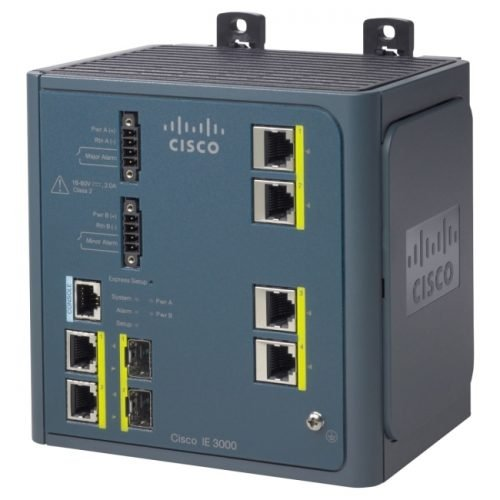 Cisco IE-3000-4TC-E Layer 3 Switch