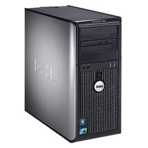 Dell OptiPlex 780 Desktop Computer - Intel Core 2 Duo E8400 3 GHz - 2 GB DDR3 SDRAM - 160 GB HDD - Windows 7 Professional downgradable to Windows XP Professional - Mini-tower