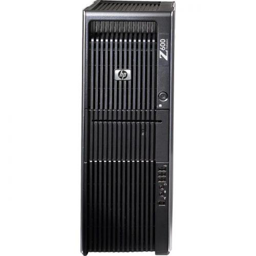 HP Z600 Workstation - Intel Xeon E5530 Quad-core (4 Core) 2.40 GHz - 4 GB DDR3 SDRAM - 500 GB HDD - Windows XP Professional 64-bit upgradable to Windows 7 Professional x64 - Convertible Mini-tower - Black, Silver