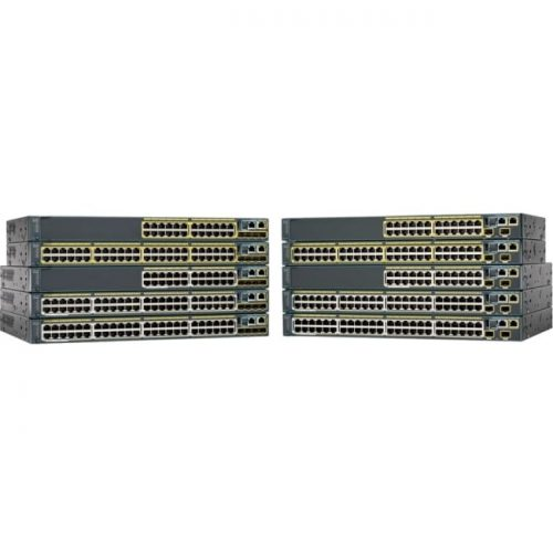 Cisco Catalyst WS-C2960S-48FPD-L Stackable Ethernet Switch