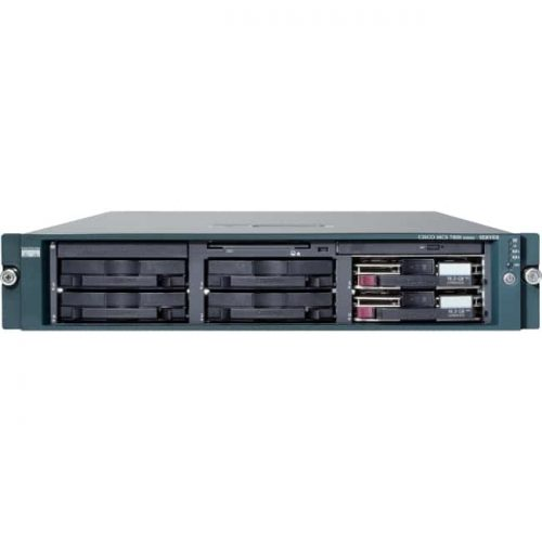 Cisco 7800 MCS 7835-I3 2U Rack Server - 1 x Intel Xeon E5504 2 GHz - 4 GB Installed DDR3 SDRAM - 292 GB HDD - Serial Attached SCSI (SAS) Controller - 1 RAID Levels - 2 x 1.35 kW