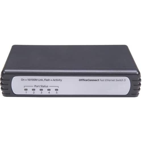 HP V1405C-5 Unmanaged Ethernet Switch