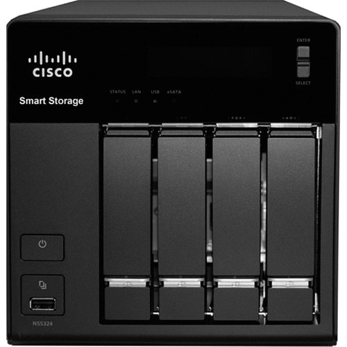 Cisco NSS 324 Smart Storage Network Storage Server