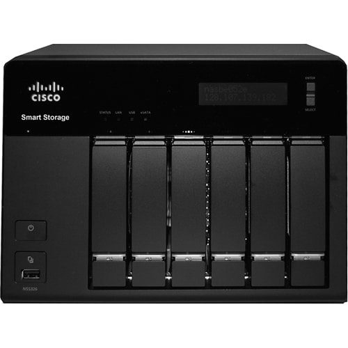 Cisco NSS 326 Smart Storage Network Storage Server