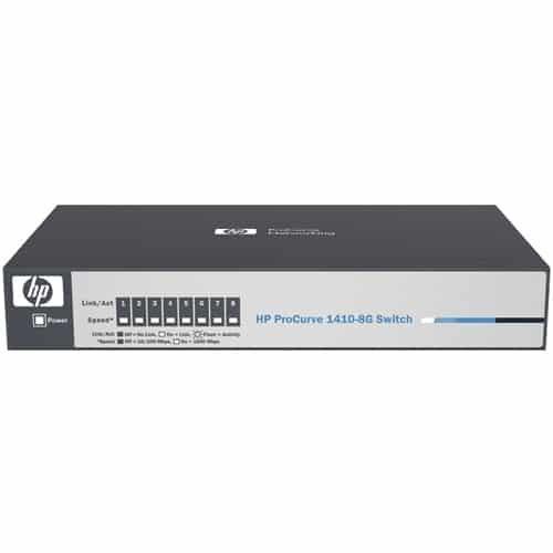 HP ProCurve 1410-8G Unmanaged Layer 2 Gigabit Switch