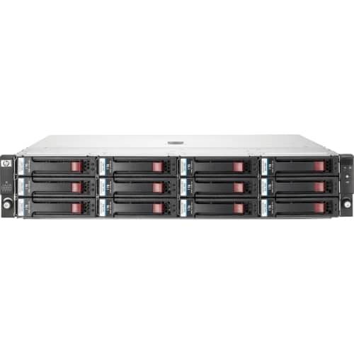 HP StorageWorks D2600 Hard Drive Array - 6 x HDD Installed - 12 TB Installed HDD Capacity