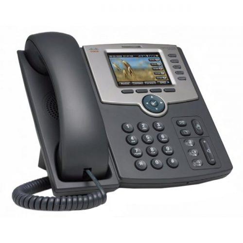 Cisco SPA 525G2 IP Phone - Wireless - Wi-Fi - Desktop