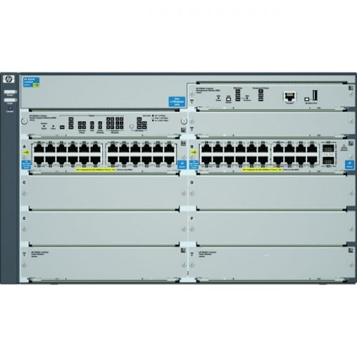 HP E8206-44G-PoE+/2XG-SFP+ v2 zl Switch Chassis