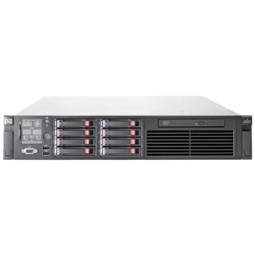 HP ProLiant DL380 G7 2U Rack Server - 1 x Intel Xeon E5606 Quad-core (4 Core) 2.13 GHz - 4 GB Installed DDR3 SDRAM - Serial Attached SCSI (SAS) Controller - 0, 1, 5, 10, 50 RAID Levels - 1 x 460 W