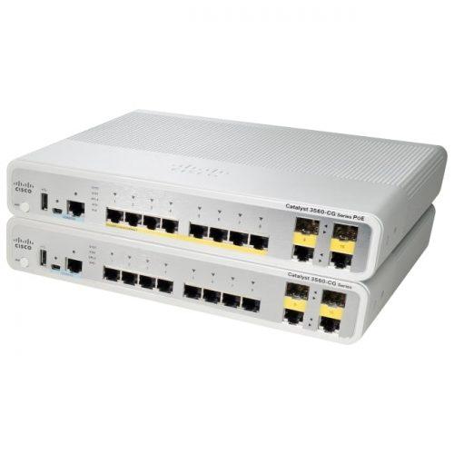 Cisco Catalyst WS-C3560CG-8TC-S Compact Switch