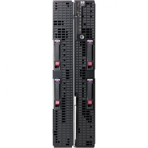 HP ProLiant BL680c G7 Blade Server - 2 x Intel Xeon E7-4860 Deca-core (10 Core) 2.26 GHz - 64 GB Installed DDR3 SDRAM - Serial Attached SCSI (SAS) Controller - 0, 1 RAID Levels