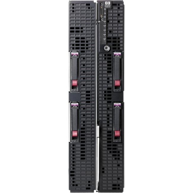 HP ProLiant BL680c G7 Blade Server - 2 x Intel Xeon E7-4850 Deca-core (10 Core) 2 GHz - 64 GB Installed DDR3 SDRAM - Serial Attached SCSI (SAS) Controller - 0, 1 RAID Levels