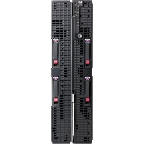 HP ProLiant BL680c G7 Blade Server - 2 x Intel Xeon E7-4830 Octa-core (8 Core) 2.13 GHz - 64 GB Installed DDR3 SDRAM - Serial Attached SCSI (SAS) Controller - 0, 1 RAID Levels