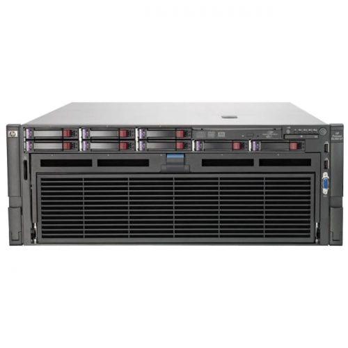 HP ProLiant DL580 G7 4U Rack Server - 2 x Intel Xeon E7-4830 Octa-core (8 Core) 2.13 GHz - 64 GB Installed DDR3 SDRAM - Serial Attached SCSI (SAS) Controller - 0, 1, 5, 10, 50 RAID Levels - 2 x 1.20 kW