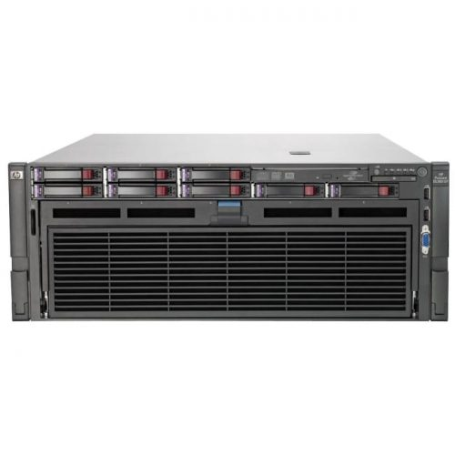 HP ProLiant DL580 G7 4U Rack Server - 2 x Intel Xeon E7-4807 Hexa-core (6 Core) 1.86 GHz - 64 GB Installed DDR3 SDRAM - Serial Attached SCSI (SAS) Controller - 0, 1, 5, 10, 50 RAID Levels - 2 x 1.20 kW