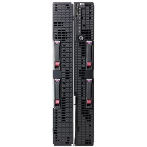 HP ProLiant Barebone System Blade - Intel 7500 Chipset - Socket LGA-1567 - 4 x Processor Support