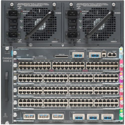 Cisco Catalyst WS-C4506-E Chassis