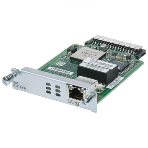 Cisco High Speed WAN Interface Card