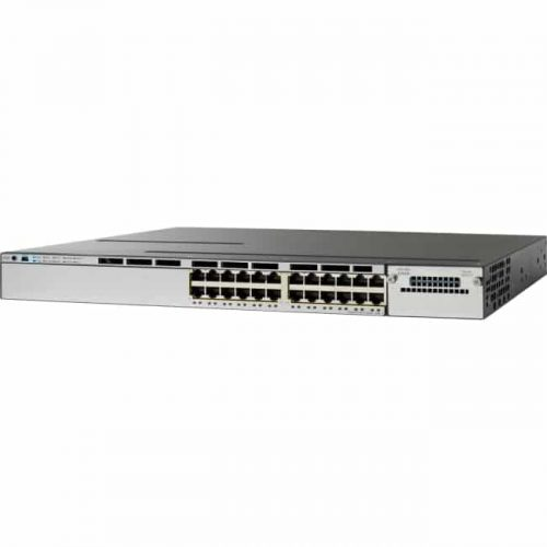Cisco Catalyst WS-C3750X-24P-S Layer 3 Switch