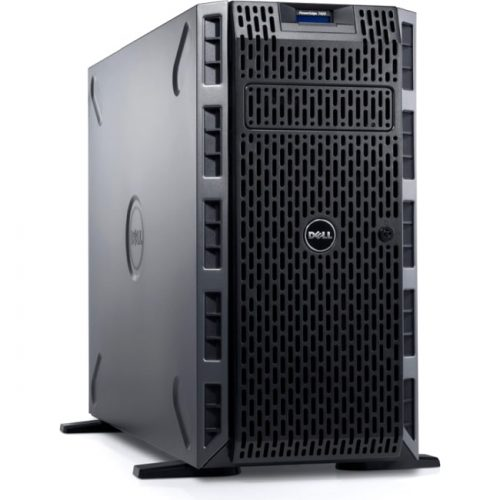 Dell PowerEdge T420 5U Tower Server - 1 x Intel Xeon E5-2407 Quad-core (4 Core) 2.20 GHz - 8 GB Installed DDR3 SDRAM - 1 TB (2 x 500 GB) HDD - Serial ATA, Serial Attached SCSI (SAS) Controller - 1 RAID Levels - 2 x 495 W