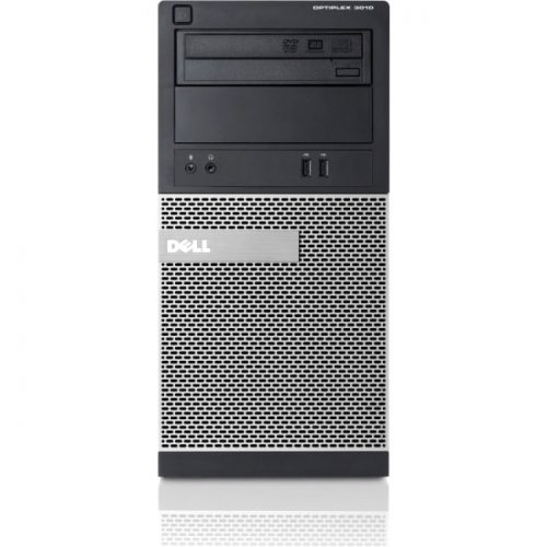Dell OptiPlex 3010 Desktop Computer - Intel Core i5 (3rd Gen) i5-3470 3.20 GHz - 4 GB DDR3 SDRAM - 250 GB HDD - Windows 7 Professional 32-bit - Mini-tower