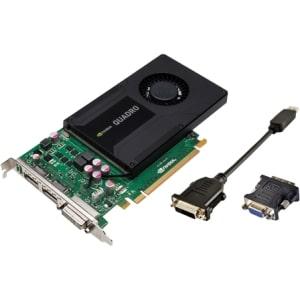 Dell Quadro K2000 Graphic Card - 2 GB GDDR5 - Single Slot Space Required