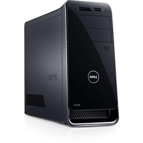 Dell XPS 8700 Desktop Computer - Intel Core i5 (4th Gen) i5-4440 3.10 GHz - 8 GB DDR3 SDRAM - 1 TB HDD - Windows 8 64-bit - Mini-tower - Black