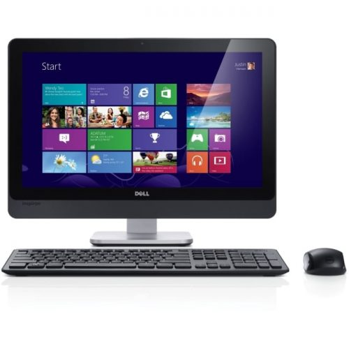 "Dell Inspiron One 2330 All-in-One Computer - Intel Pentium G2030 3 GHz - 4 GB DDR3 SDRAM - 1 TB HDD - 23"" 1920 x 1080 Touchscreen Display - Windows 8 64-bit - Desktop - Black"