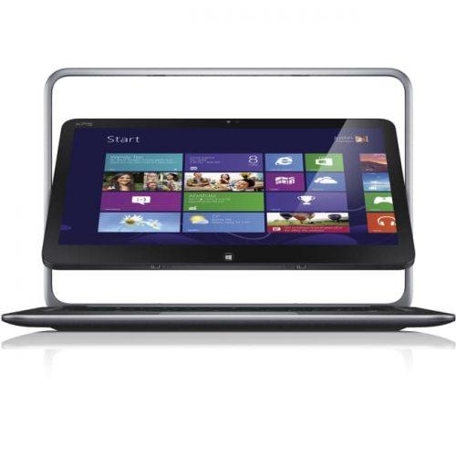 "Dell XPS 12 12.5"" Touchscreen LCD 2 in 1 Ultrabook - Intel Core i7 (4th Gen) i7-4500U Dual-core (2 Core) 1.80 GHz - 8 GB DDR3 SDRAM - 128 GB SSD - Windows 8 Pro - 1920 x 1080 - Convertible - Anodized Aluminum"