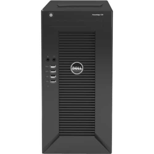 Dell PowerEdge T20 Mini-tower Server - 1 x Intel Xeon E3-1225 v3 Quad-core (4 Core) 3.20 GHz - 4 GB Installed DDR3 SDRAM - 1 TB HDD - Serial ATA Controller - 1 x 290 W