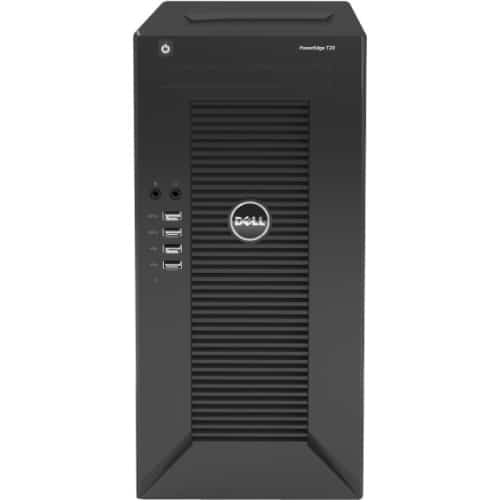 Dell PowerEdge T20 Mini-tower Server - 1 x Intel Xeon E3-1225 v3 Quad-core (4 Core) 3.20 GHz - 4 GB Installed DDR3 SDRAM - 1 TB HDD - Serial ATA Controller - 1 x 290 W