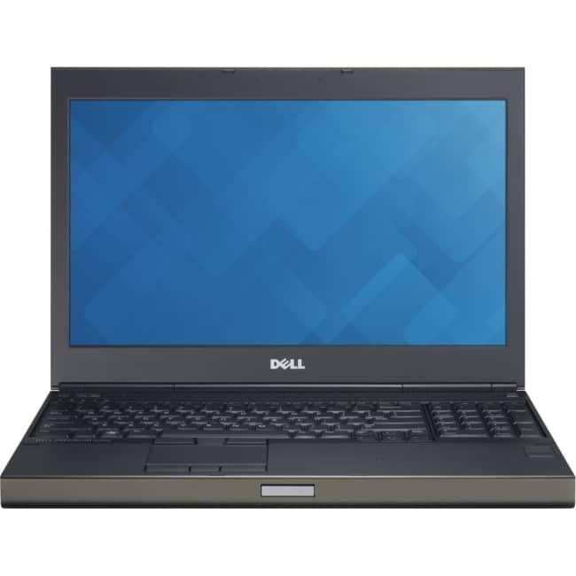 "Dell Precision M4800 15.6"" LCD Notebook - Intel Core i7 i7-4900MQ Quad-core (4 Core) 2.80 GHz - 16 GB DDR3 SDRAM - 256 GB SSD - Windows 7 Professional 64-bit - 1366 x 768"