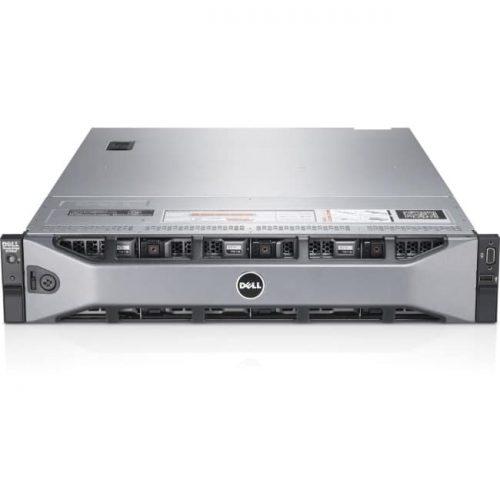 Dell PowerEdge R720 2U Rack Server - 2 x Intel Xeon 2.40 GHz - 16 GB Installed DDR3 SDRAM - 6.60 TB (2 x 300 GB), (6 x 1 TB) HDD