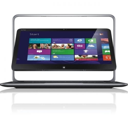 "Dell XPS 12 12.5"" Touchscreen LCD 2 in 1 Ultrabook - Intel Core i5 i5-4200U Dual-core (2 Core) 1.60 GHz - 4 GB - 128 GB SSD - Windows 8.1 Pro - 1920 x 1080 - Convertible - Anodized Aluminum, Carbon Fiber"