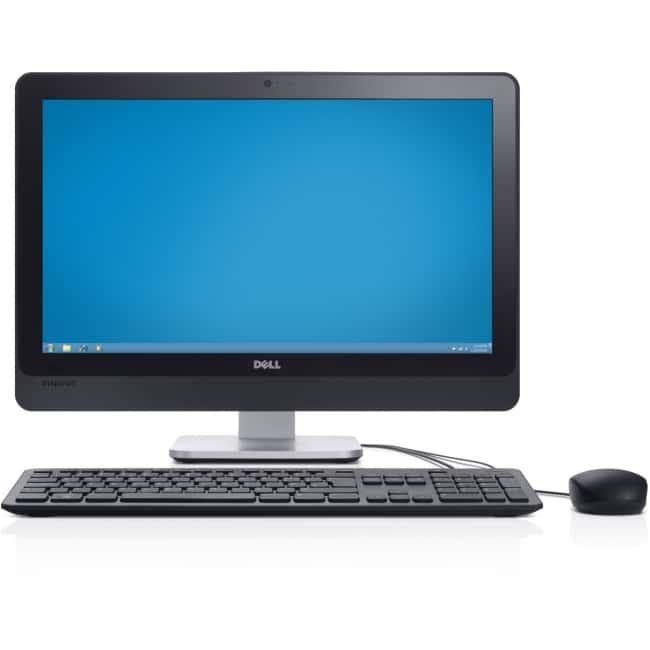 "Dell Inspiron 2350 All-in-One Computer - Intel Core i7 (4th Gen) i7-4700MQ 2.40 GHz - 12 GB DDR3L SDRAM - 1 TB HHD - 23"" 1920 x 1080 Touchscreen Display - Windows 8.1 64-bit (English) - Desktop - Silver"