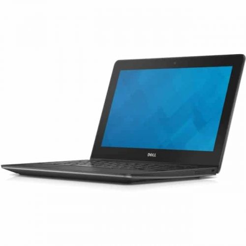 "Dell Chromebook 11 11.6"" Chromebook - Intel Celeron 1.40 GHz - 2 GB DDR3L SDRAM - Chrome OS - 1366 x 768 - Foggy Night"