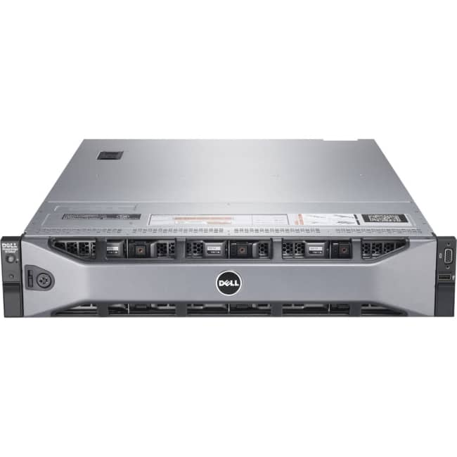 Dell PowerEdge R720 2U Rack Server - 2 x Intel Xeon E5-2640 Hexa-core (6 Core) 2.50 GHz - 128 GB Installed DDR3 SDRAM - 600 GB (2 x 300 GB) HDD