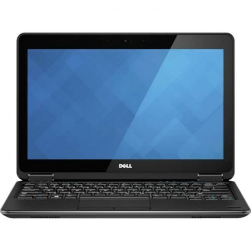 "Dell Latitude 12 7000 E7240 12.5"" Touchscreen LCD Ultrabook - Intel Core i5 i5-4300U Dual-core (2 Core) 1.90 GHz - 8 GB DDR3L SDRAM - 256 GB SSD - Windows 7 Professional 64-bit - 1366 x 768 - Black"